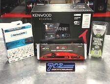 KENWOOD DMX905S RECEIVER + FREE SIRIUSXM TUNER + STEERING WHEEL CONTROL + CAMERA
