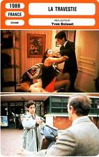 FICHE CINEMA : LA TRAVESTIE - Breitman,Galiena,Farcy,Boisset 1988
