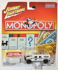 Johnny Lightning Monopoly 2003 Short Line RR 2000 Hummer H1 & Game Token MOC HTF