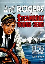 USED DVD // JOHN FORD - WILL ROGERS - STEAMBOAT ROUND THE BEND - RESTORED