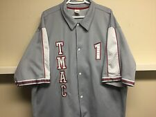 Vintage T-MAC Adidas Warm up Jacket Grey/White/Red Sz XXL Fits Exell Cond.