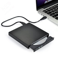 UK External USB 2.0 DVD CD RW Drive Rewriter Burner Writer Player Laptop PC KT