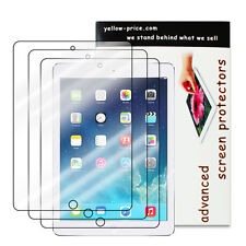 3pcs HD Clear Screen Protector Shield Guard Film For Apple iPad Air 1 2 iPad 5 6