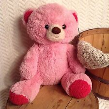 Giant Huge Jumbo Teddy Bear Stuffed Animal Plush ANIMAL ADVENTURE Pink 28""