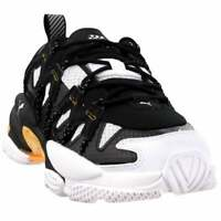 Puma LQDCELL Omega Density Lace Up Sneakers  Casual   Sneakers Black Mens - Size