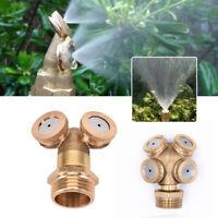 Ugello Nebulizzazione Spray Ottone Tubo Connettore Spruzzatore Per Irrigazione