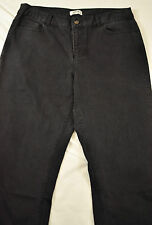 nwt! womens Christopher & Banks jeans size 6 short boot cut black five bockets