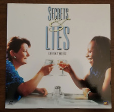 LASERDISC Movie: SECRETS & LIES - Timothy Spall, Brenda Blethyn - Collectible