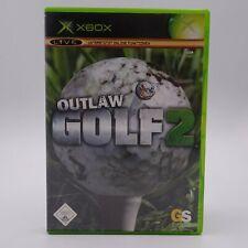 Outlaw Golf 2 Microsoft Xbox Spiel Game Neue Plätze Golfcarts Gemüter
