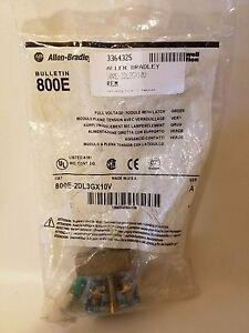 Allen Bradley 800E-2DL3GX10V Complet Voltage Puissance Module avec Loquet 24V