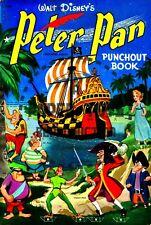 VINTAGE REPRINT - 1952 - PETER PAN PUNCH-OUT BOOK - REPRODUCTION