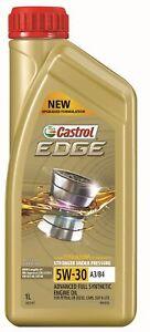 Castrol EDGE 5W-30 A3 B4 Engine Oil 1L 3421197 fits Nissan Skyline Crossover ...