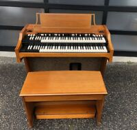 Serviced 1964 Hammond A100 Organ Worldwide shipping!  B3 C3 etc