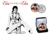 Elvis Presley - That's The Way It Is Colorized JFK Kennedy Half Dollar Coin