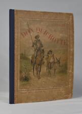 Saavedra, Cervantès. Histoire de Don Quichotte. [Don Quixote]. Paris, [c. 1880].