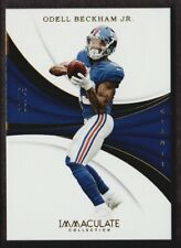 2018 Immaculate Collection #56 Odell Beckham Jr. 51/99 New York Giants