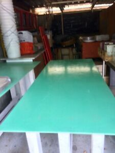 Long Communal Table / High Bench - Home or Cafe / Restaurant (2 available)