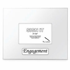 Landmark Sign It Wooden Occasions Signature Photo Frame - Engagement