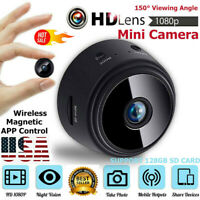 Mini Camera Wireless Wifi IP Home Security 1080P HD DVR Night Vision Remote USA