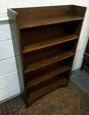 Vintage Dark Oak Shelving Unit/Bookcase