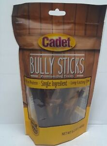 Cadet Bully Sticks Dog Treats 5.2 Oz Value Pack exp06/30/22#019