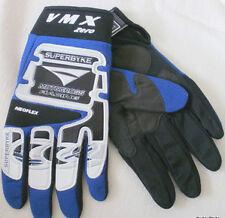 MENS VMX ZERO SUPERBYKE MOTOCROSS NEOFLEX RACING GLOVES~SIZE MEDIUM (9-10)~BLUE