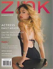 Zink Magazine Summer 2013, Emily Meade, Dmitry Sholokhov, Nicaragua.