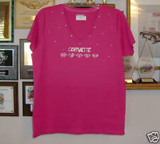 Corvette Red  Ladies  Shirt  with Hearts  All Sizes  and colors  Best seller