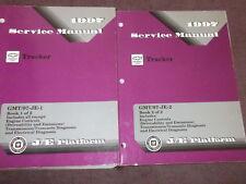 1997 Chevrolet CHEVY GEO TRACKER Shop Repair Workshop Service Manual Set OEM GM