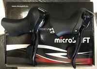 Comandi leve freno cambio bici MicroShift SB-R102C 10x2 bike shifter brake lever
