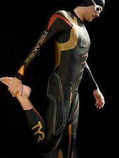 $1200 TYR Hurricane Freak Of Nature Wetsuit Tri Suit Triathlon Swimming Male men