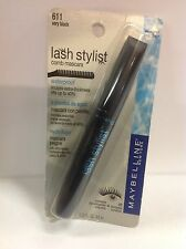Maybelline Lash Stylist Mascara VERY BLACK # 611 WATERPROOF SEALED.