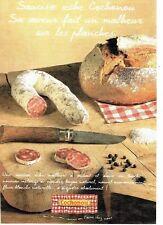 Publicité Advertising 037  2000   le saucisson Cochonou