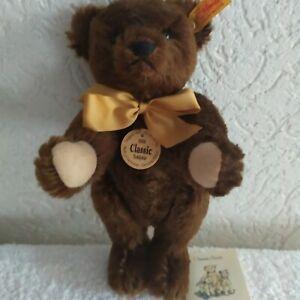 Steiff Classic 1909 Teddybär, braun,  mit Stimme, 25 cm