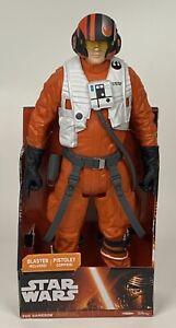 Jakks Pacific Disney Star Wars X-Wing Pilot Poe Dameron 18 inch Action Figure