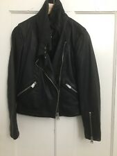 All Saints LEWIN Leather Biker Jacket
