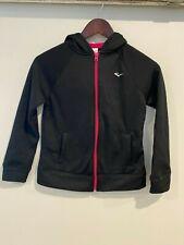 EVERLAST girls PINK / BLACK long sleeve hoodie top size 10-12 (M)