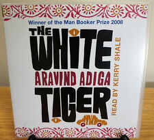 AUDIO BOOK Aravind Adiga THE WHITE TIGER read by Kerry Shale on 5 x CDs