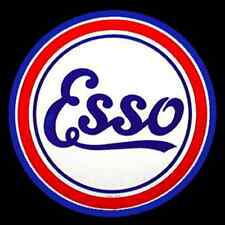 60's Pop Culture Classic Esso Gas logo custom tee Any Size Any Color