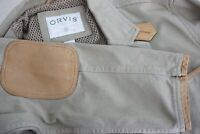 Orvis Zambezi Twill Leather Detailed Hunting Safari Jacket Sport Coat Sz 40