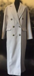 Ladies BNWT TOPSHOP Lilac Oversized Duster Coat Size 6
