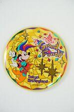 Tokyo Disney Resort Button TDL 15th Anniversary 4th Grand Finale Mickey