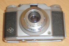 dachbodenfund AGFA silette  pronto foto apparat alt kamera leder tasche top deko