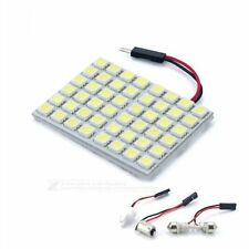 48 SMD White Panel Led Car T10 BA9S Festoon Dome Interior Lamp Bulb Light DC12V
