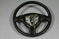 BMW 3 SERIES E46 SPORT LEATHER STEERING WHEEL WITH WOOD TRIM