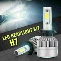 H7 Faros LED COB Bombilla antiniebla Kit de luces altas 6500K 30W 20000LM Blanco
