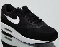 Nike Air Max 1 Mens Black White Sneakers Casual Lifestyle Shoes AH8145-014
