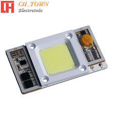 1pcs AC110V 50W Watt CBO Chip LED White 6000k Flood lights Smart IC Driver Lamp