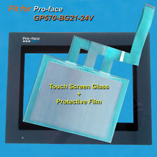 for Pro-face GP570-BG21-24V Touch Screen Glass + Protective Film
