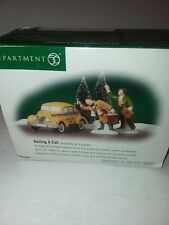 Department 56 Hailing a Cab From the Christmas in the City Series. Nib 56.58961